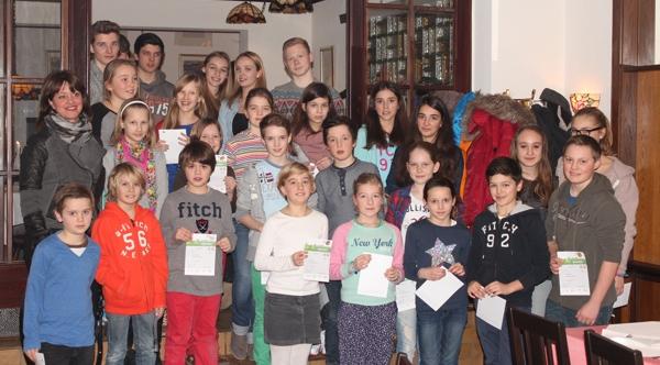 Sportabzeichen 2013 - Kinder